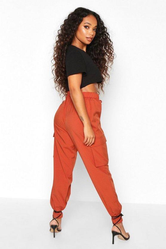 Petite Pocket Detail Cargo Trousers