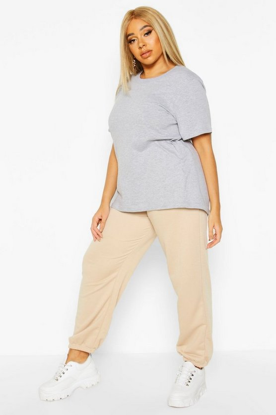Womens Stone Plus Loopback Pocket Jogger