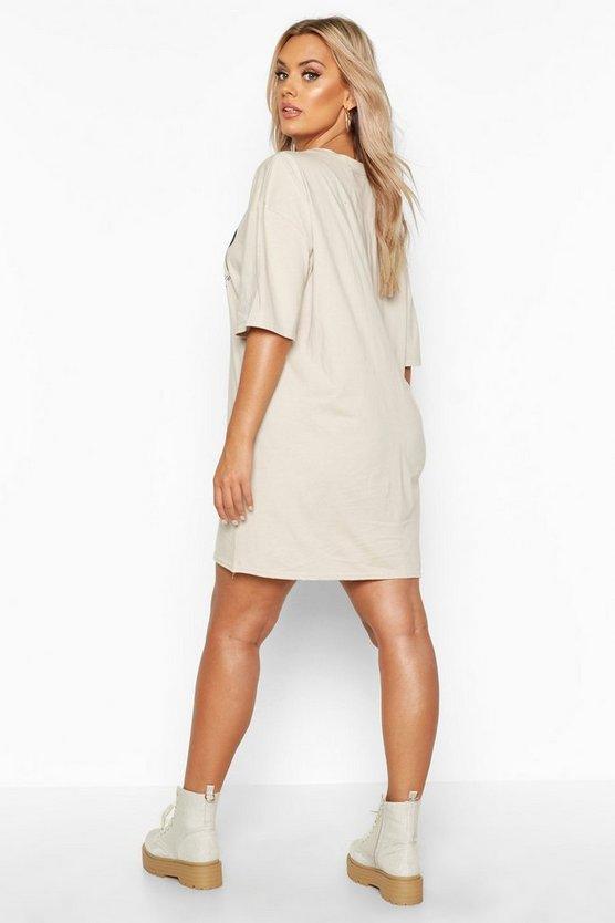 Plus Amour Oversized T-Shirt Dress