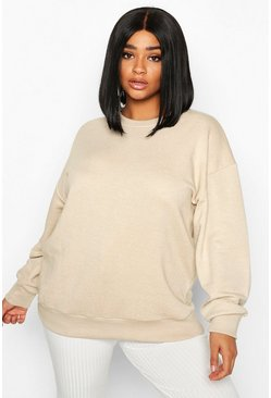 Stone Plus Oversized Sweat