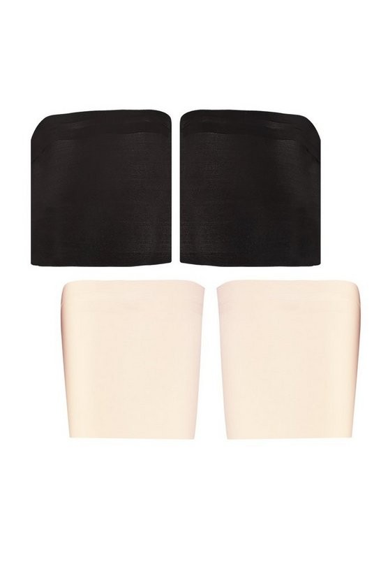 Plus 2 Pack Black & Nude Anti-Chafing Bands