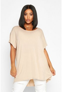 Womens Stone Plus Oversized T-Shirt