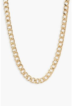 Gold Plus Simple Chain Choker