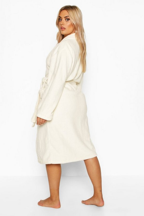 Plus Super Soft Dress Robe