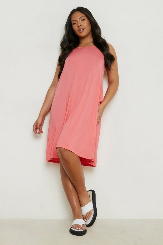 Poppy Plus Basic Swing Dress