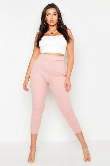 e027fc27159a6 Plus Size Trousers | Womens Plus Size Trousers | boohoo UK