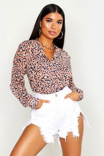 c85c3206c23ba5 Petite Tops | Petite T-shirts & Petite Bodysuits | boohoo UK