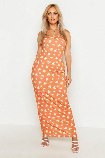 0644b75ef0512 Plus Size Maxi Dresses | Floor Length Plus Size Dresses | boohoo UK