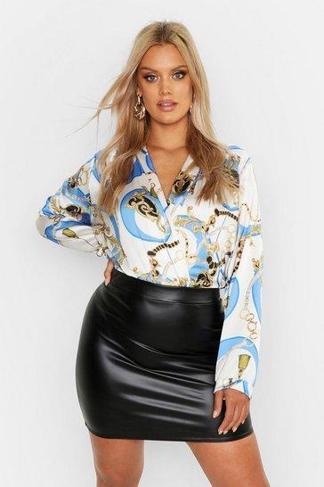 2705e05349d2 Plus Size Bodysuits   boohoo UK