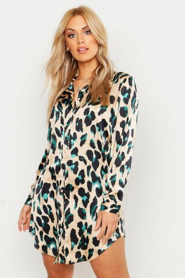7507d866b9d1b9 Shirt Dresses | Long & Oversized Shirt Dresses | boohoo UK