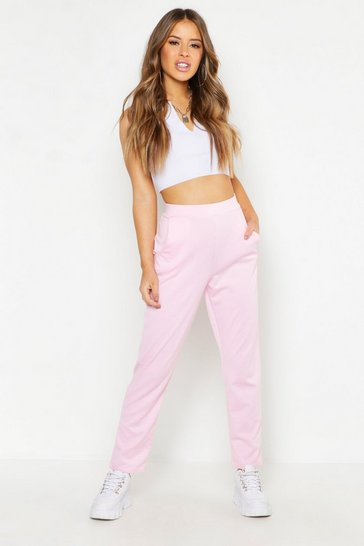 Womens Hot pink Petite Tailored Trousers