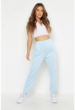 Womens Pale blue Petite Tailored Trousers
