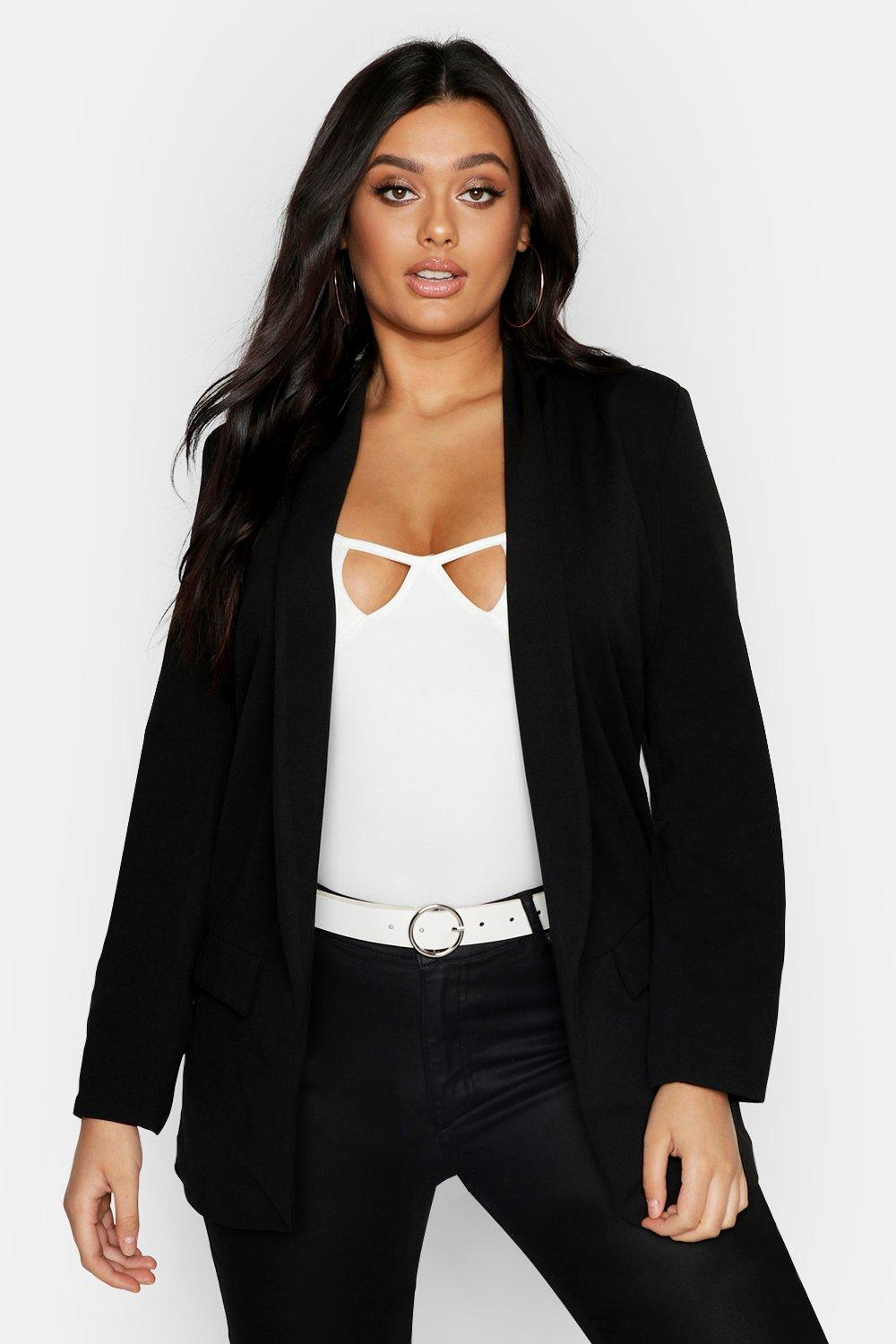 Plus Tailored Blazer