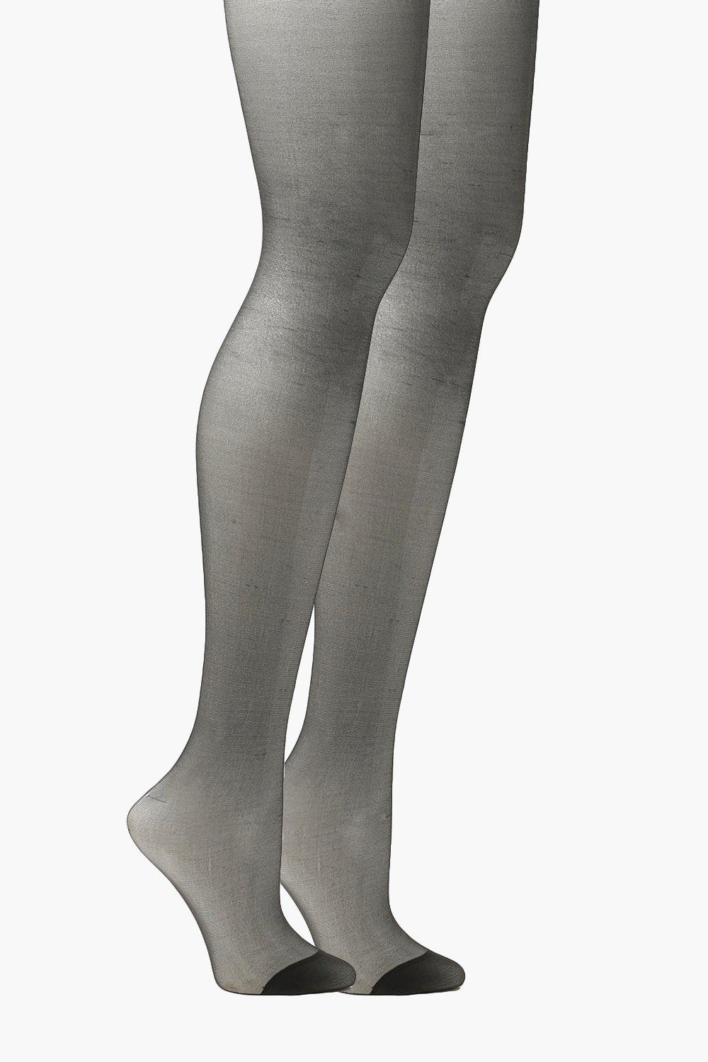 Plus 20 Denier Sheer Lycra Tights