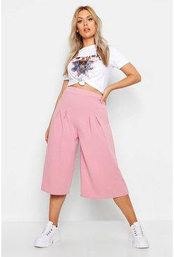 Blush Plus Wide Leg Culotte