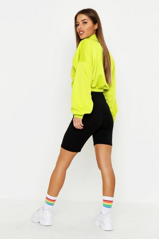 Petite High Rise Cycling Shorts