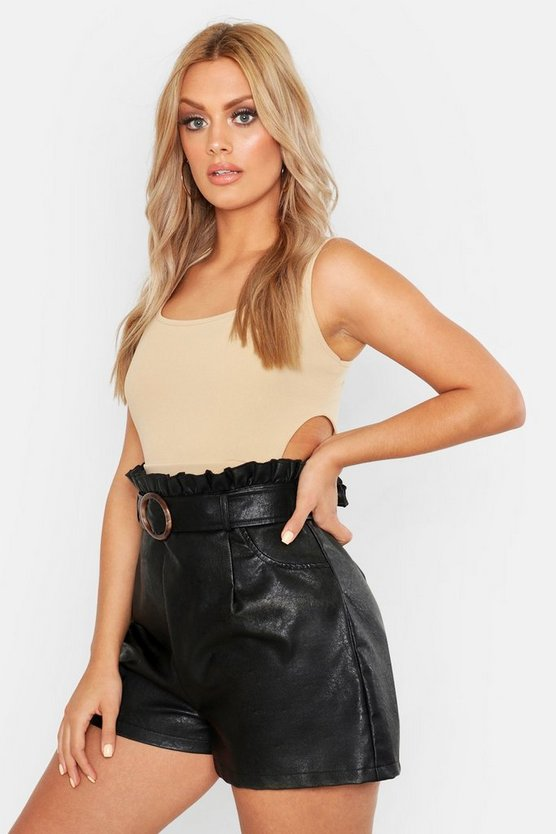 Womens Stone Plus Scoop Cut Out Bralet