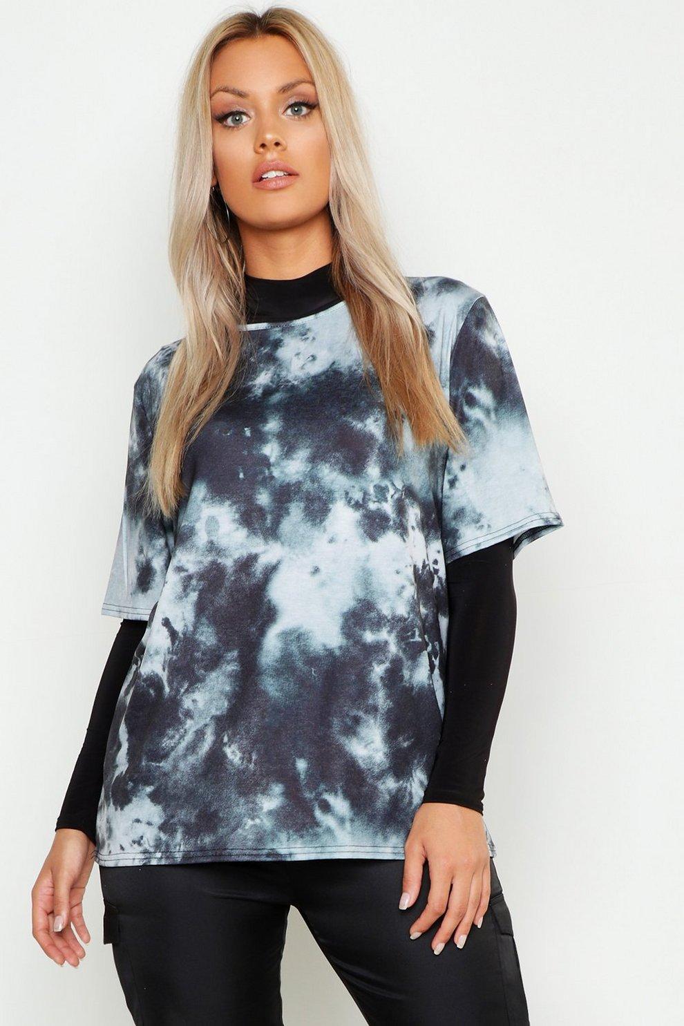 9176f9d7968 Plus Tie Dye Oversized T-Shirt
