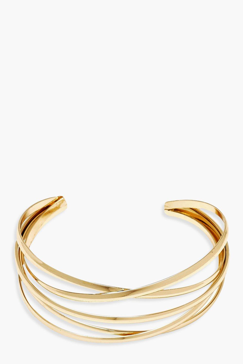 Plus Gold Bangle