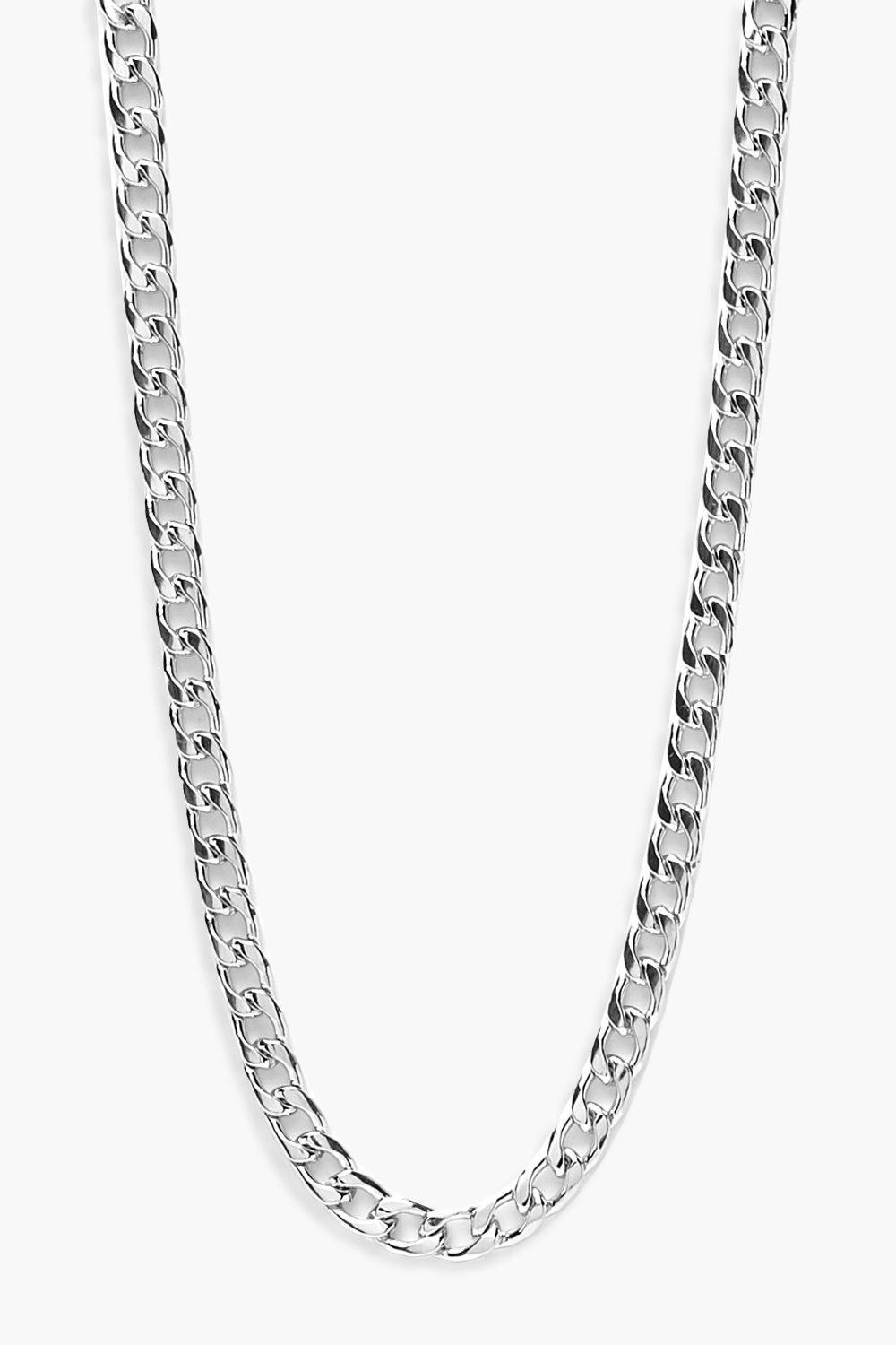 Plus Silver Chain Choker