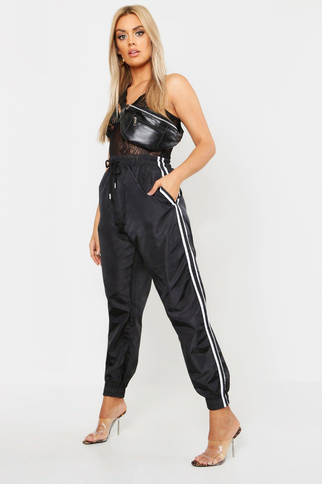 Plus Side Stripe Shell Jogger