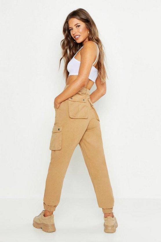 Petite Pocket Detail Cargo Trouser