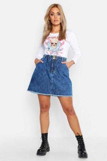 64bc9269f8 Denim Skirts | Jean Skirts | boohoo UK