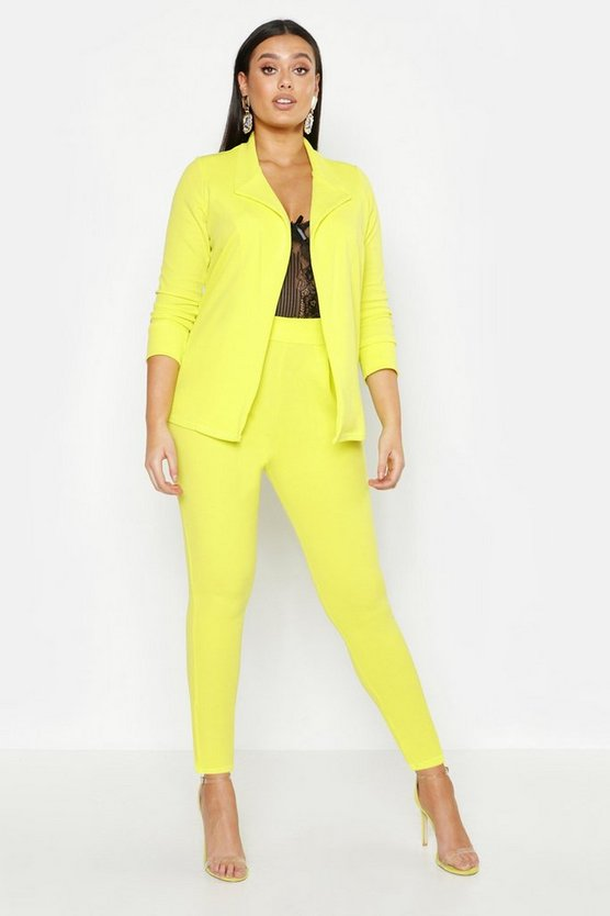 Plus Neon Suit Co-Ord