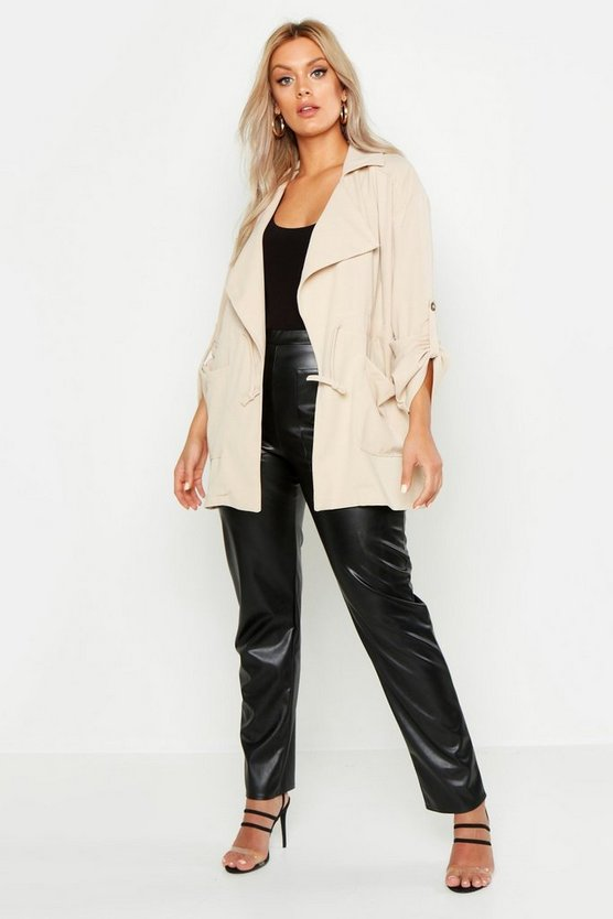 Plus Waterfall Rouch Utility Jacket