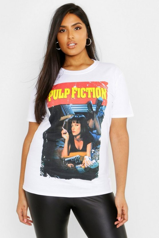 Plus Pulp Fiction T-Shirt