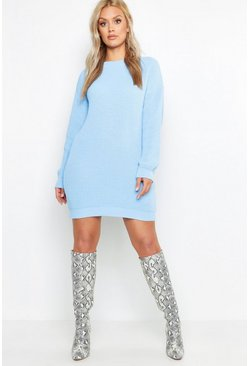 Dam Sky Plus Crew Neck Jumper Dress
