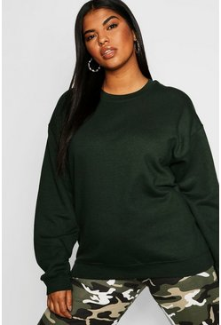 Womens Forest Plus Oversized Sweat