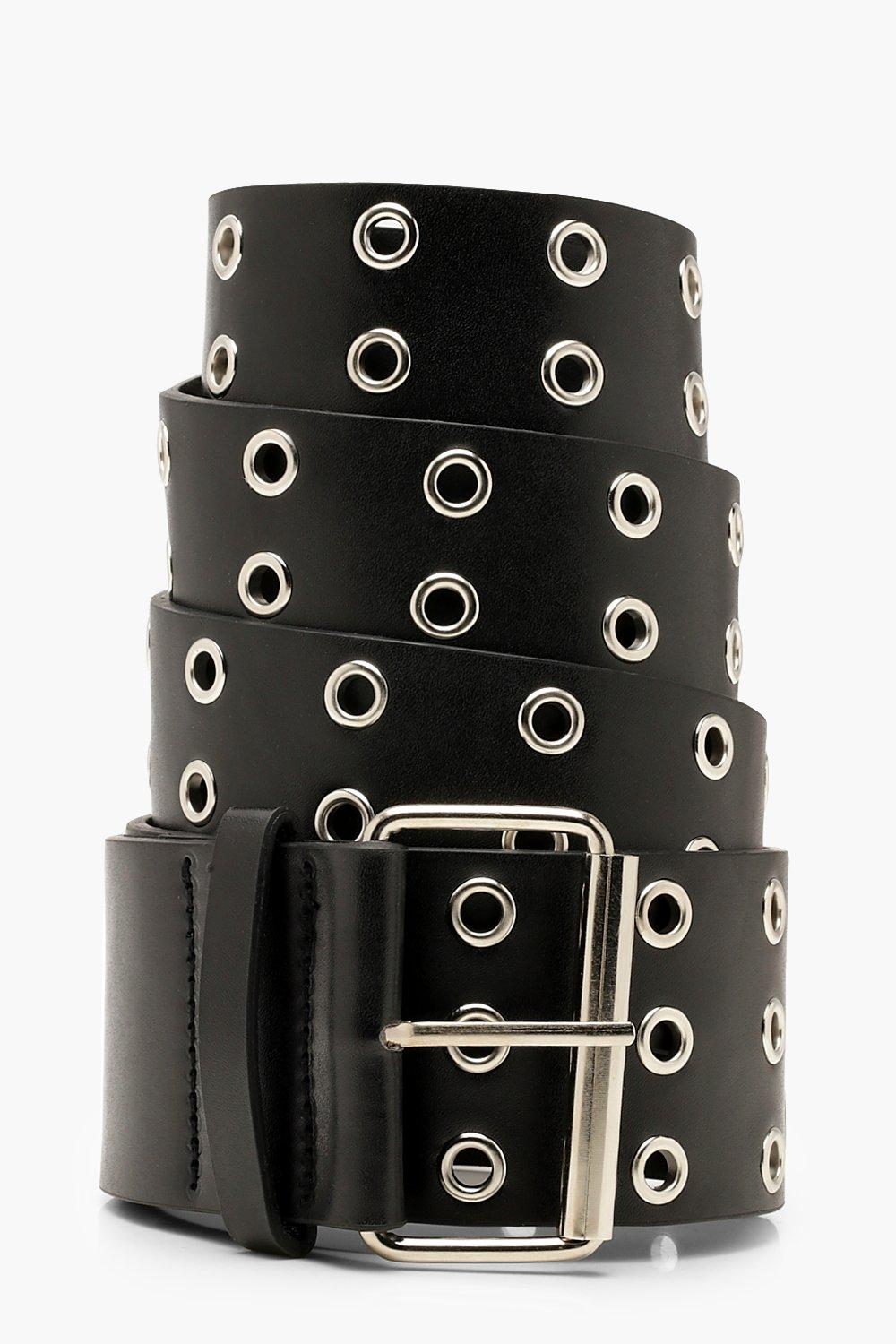 Plus Wide Eyelet Waist Belt