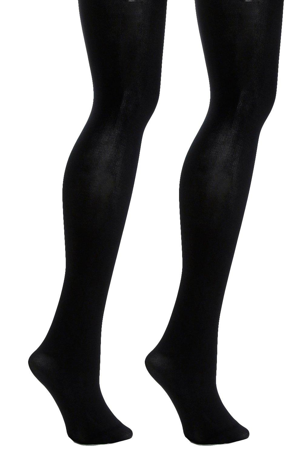 Plus 2 Pack 80 Denier Tights