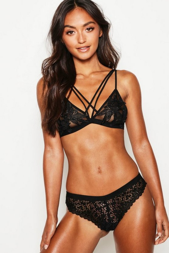 Petite Scallop Edge Lace Knickers