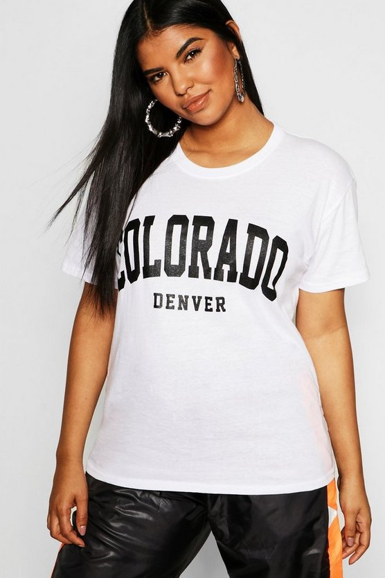 Plus Colorado Slogan T-Shirt