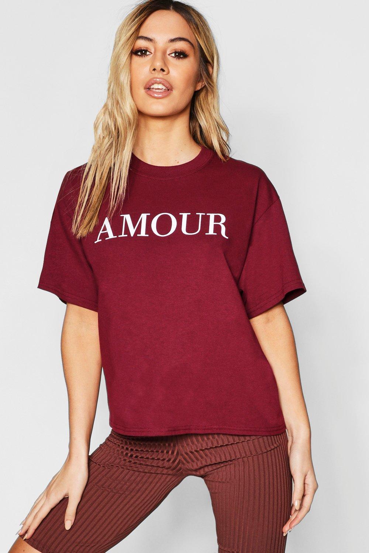 Petite Amour Slogan Tshirt