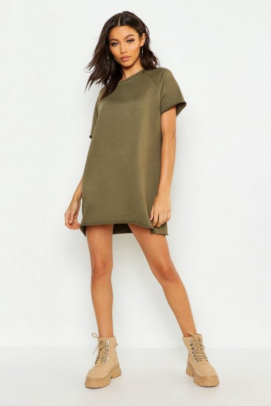Petite Oversized Sweat Dress