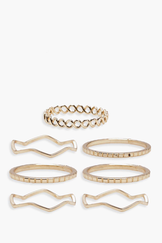 Plus Delicate Rings 7 Pack