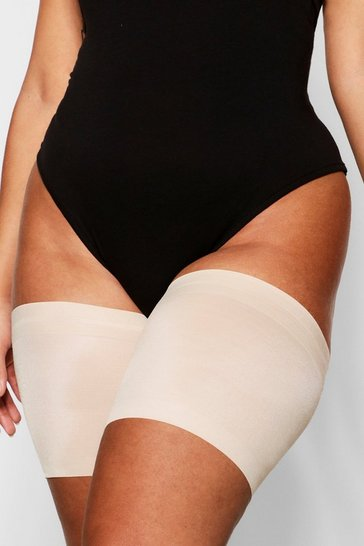 Womens Nude Plus Anti Chafing Thigh Bands