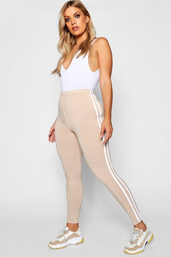 Plus Side Stripe Legging