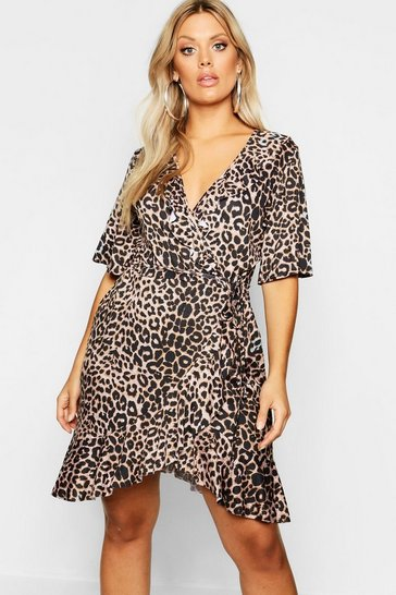 d88826d3f263 Animal Print Dresses | boohoo UK