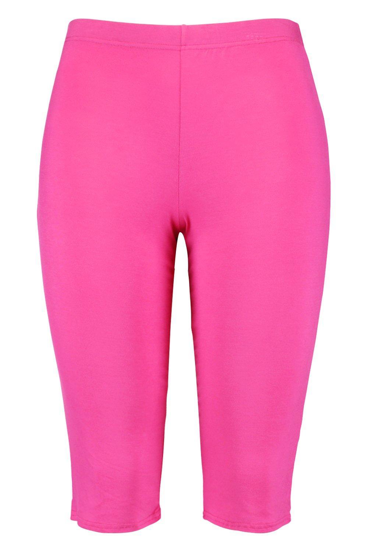 Pantalones línea larga ciclismo de cortos de brillante Plus Rosa rqFIwrRP
