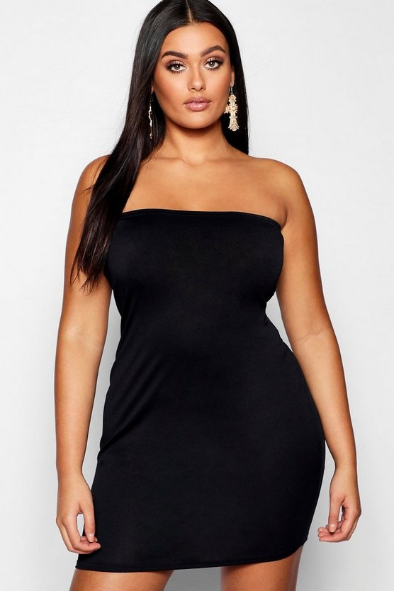 Plus Structured Bodycon Dress