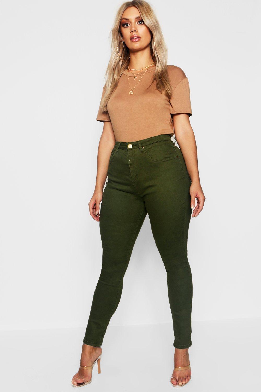Plus 5 Pocket Stretch Skinny Jean