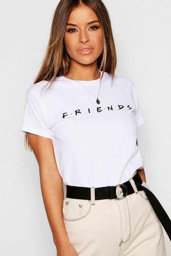 Camiseta patentada Friends Petite