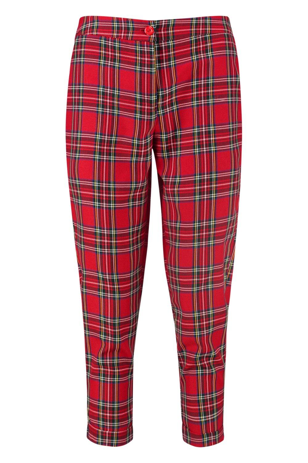 Petite Check Trouser Trouser Trouser Tapered red Tapered Petite Check Petite red Tapered Check Rprqdp