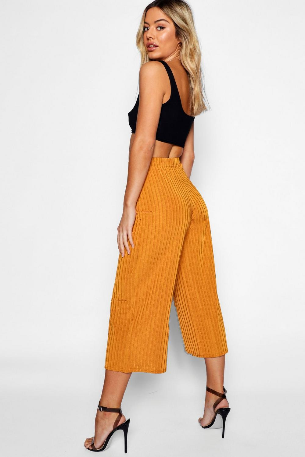Culottes black Petite Rib Slinky Knitted qxwCBfUP