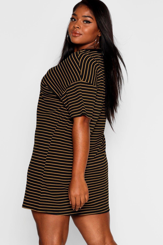 Plus T Striped Plus Dress Shirt T Striped Plus Dress Plus Striped Dress Shirt Striped T Shirt TzA7xAqE
