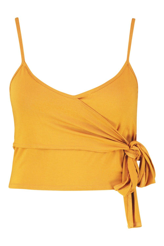 Detail Plus Tie Wrap Cami mustard EEpqT